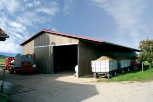 Hangar agricole métallique
